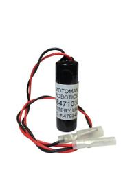 Yaskawa Motoman HW8471030-A - 479348-2 Battery - 3.6V Lithium