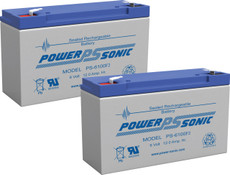 APC RBC3  Replacement Batteries  ( 2 ) 6v 12Ah  F2 Batteries