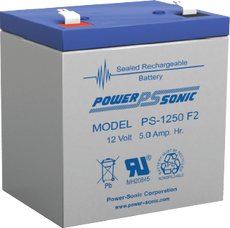 APC RBC46  Replacement  Battery  ( 1 ) 12v 5ah F2  Battery