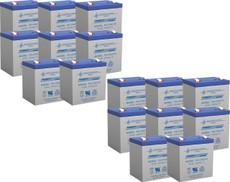 APC RBC44  Replacement Batteries ( 16 ) 12v 5ah Batteries