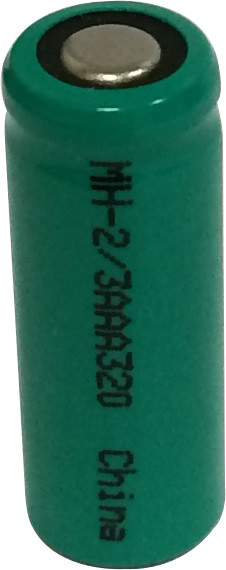 2/3 AAA Cell Ni-MH Battery  - 1.2 Volt 320mAh