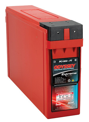 Odyssey PC1800-FT Deep Cycle / Starting Marine Battery