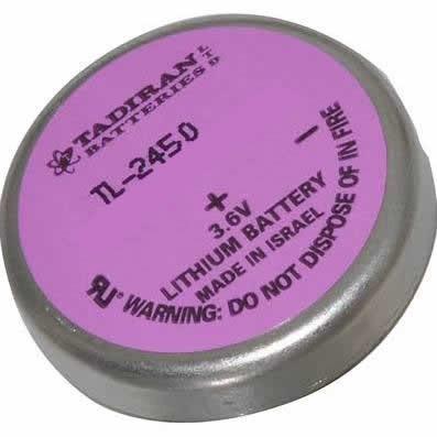 Tadiran TL-2450 - TL-2450/P Battery - 3.6V Lithium Bel Wafer