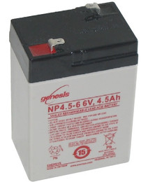 Genesis NP4.5-6 Battery 6V 4.5 Ah by Enersys