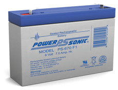 Lithonia ELB0607 Battery