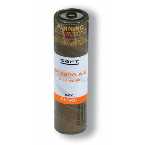 Saft BA 5800 A/U Battery for CAM GPS AN/PSN-10 PSN-8 PSN-11