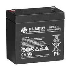 B.B. Battery BP10-4 - 4V 10Ah AGM - VRLA Rechargeable Battery