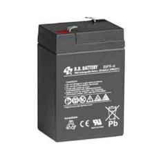 B.B. Battery BP5-6 - 6V 5Ah AGM - VRLA Rechargeable Battery