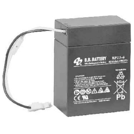 B.B. Battery BP13-6 H - 6V 13Ah AGM - VRLA Rechargeable Battery