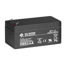 "B.B. Battery BP3-12 (.187"") - 12V 3Ah AGM - VRLA Rechargeable Battery"