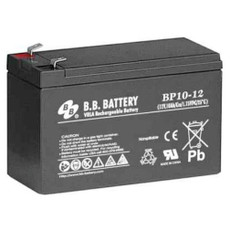 "B.B. Battery BP10-12 (.250"") - 12V 10Ah AGM - VRLA Rechargeable Battery"