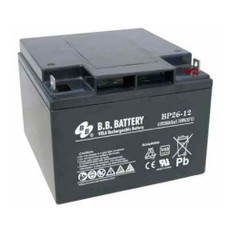 B.B. Battery BP26-12 (Nut & Bolt) - 12V 26Ah AGM - VRLA Rechargeable Battery