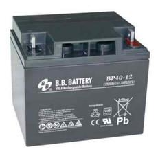 B.B. Battery BP40-12 (Nut & Bolt) - 12V 40Ah AGM - VRLA Rechargeable
