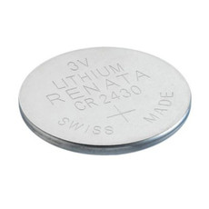 Renata CR2430 Battery 3V Lithium Coin Cell (Bulk)