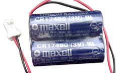 Maxell 2CR17450 (3V) Battery - CR17450 with RD0296