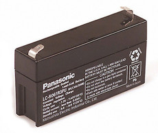 LC-R061R3PU Panasonic Battery - 6V 1.3Ah AGM Sealed Rechargeable