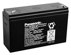 LC-R0612P Panasonic Battery - 6V 12Ah Sealed Lead Rechargeable