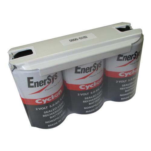 Enersys Cyclon 0800-0102 Battery - 6 Volt 5.0Ah SLA