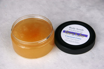 Coconut Lime Dead Sea Salt Body Scrub