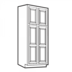 WP2496B Pantry Cabinets