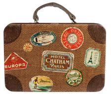 Maileg - Suitcase, metal, brown