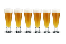 Holmegaard Humle beer glass 62cl 6pcs