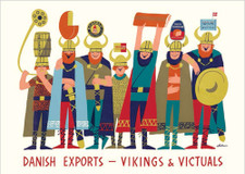 Danish Export Vikings A3 Poster