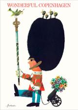 Royal Guard Wonderful Copenhagen A3 Poster