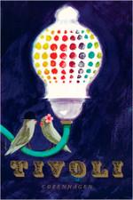 Tivoli Copenhagen A3 Poster