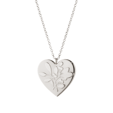 Georg Jensen's 2015 Ornamental Heart Silver Plated