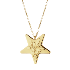 Georg Jensen's 2015 Ornamental Star Gold Plated