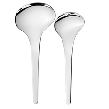 Georg Jensen Bloom 2 pcs Serving Spoons
