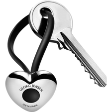 Georg Jensen Heart Key Ring