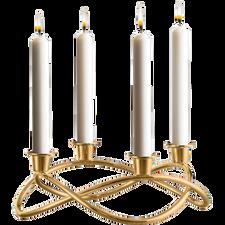 Georg Jensen Season Candleholder Gold Plated