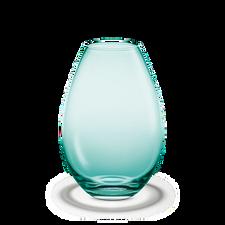 Holmegaard Cocoon Vase, aquamarine, H 26 cm