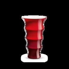 Holmegaard Karen Blixen Vase, red, H 31 cm