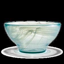Holmegaard Nordlys Bowl, white, 24 cm
