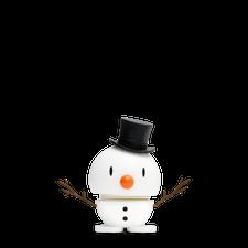 Hoptimist - Snowman Baby (small), White