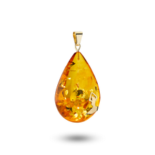House of Amber - PENDANT DROP M/14KT H.C.A.