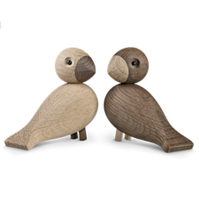Kay Bojesen - Lovebirds, 2 pcs., light and dark