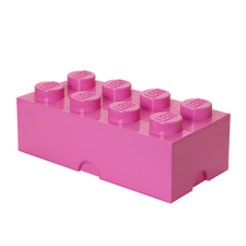 LEGO Storage Brick 8 MEDIUM PINK