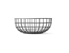 MENU - Wire Bowl, Black