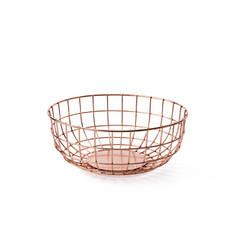 MENU - Wire Bowl, Copper