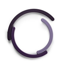 Normann Cph / Rainbow Trivet, Purple