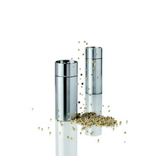 Stelton Arne Jacobsen salt & pepper set, 2.6 in. (US)