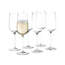 Holmegaard Bouquet Champagne glass, 6 pcs., 29 cl