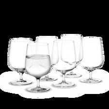 Holmegaard Bouquet Water glass, 6 pcs., 38 cl