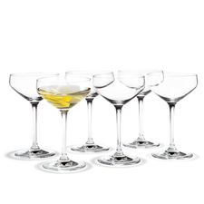 Holmegaard Perfection Martini, 6 pcs., 29 cl