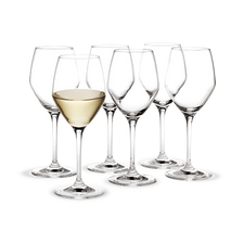 Holmegaard Perfection White wine, 6 pcs., 32 cl
