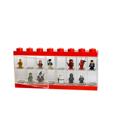 LEGO Mini figure display Red-16